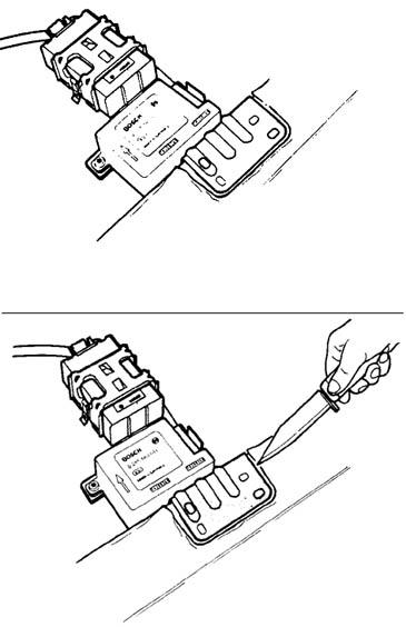 Air Bag Crash Sensor Module Removal